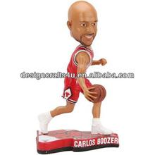 Basketball Star Resin Sport Bobble doll