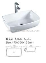 Sanitary ware Artistic basin stainless steel hand wash basins