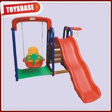 Children outdoor plastic toy swings