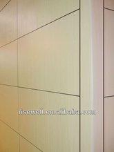 HPL Fundermax exterior prefabricated wall panels
