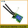 full test seamlessly 300M 802.11b/g/n plastic case desktop Mini PCI-e wireless ralink usb wifi adapter for pcmcia card