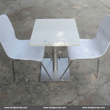 Tables and chairs usded for restaurant / standard size of table