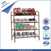 Durable Adjustable Folding Plastic modern shoe rack