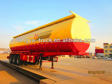China trailers manufacturer Tongya high quality fuel tanker truck dimensions
