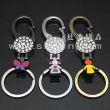 fashion key chains metals metal decorative keys