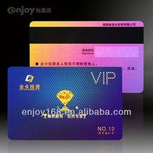 Fashionable 0.76mm PVC Card VIP Cards Printing