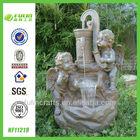 Angel Statue Garden Resin Big Water Fountains Decoration