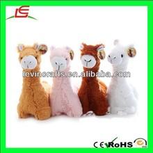 LE h1831 birthdy festival alpaca plush stuffed toy camel llama animal