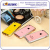 Diamond Rhinestone Crystal Bling Aluminum Metal Bumper Hard Case for APPLE iPhone 5 5C Paypal Acceptable