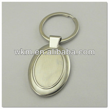 DIY Personalized Metal Key Chain Oval