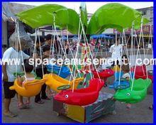 [Space amusement]Most popular Amusement New Mini Swing Set for sale