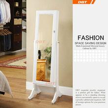 solid wood European style vanity stylish white/black sideboard&jewelry cabinet