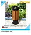 Db-799e item ao ar livre tampo de resíduos bin com cinzeiro