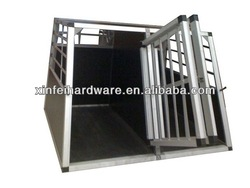 factory 2013 new pet products durable high quality water proof strong stainless steel dog cage