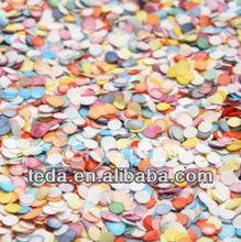 Teda round shaped paper confetti