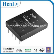 power converters 24vdc to 15vdc,20w isolation regulated dc dc converter