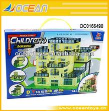 Hot 315pcs children's plastic building block diy set education toys
