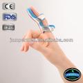 Curvo dedo splint maleável de alumínio splint dedo protetores