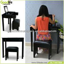 korean fashion homeset white dressing table with stool
