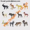 Hard PVC small plastic animal figurines