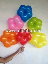 "Latex Flower Shaped Balloons 12"" 3.2g"