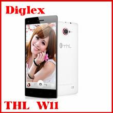 Wholesale original android smartphone thl w11 mtk6589t 2gb ram 32gb rom 13MP+13MP 3g wifi gps Androd Dual Sim Phone