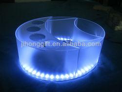 Acrylic plastic ice bucket wine cooler