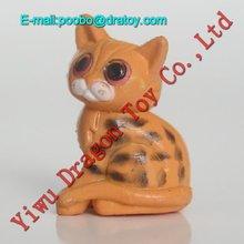 mini cheap toy plastic cats