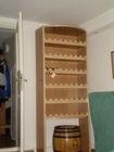 wine shelfs