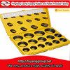 customized NBR O-ring box in yellow plastice box