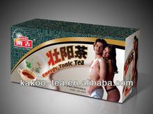 Kakoo Chinese effective herbal sexual tea for male tea bag