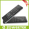 Super Slim Multifunctional 2.4G Mini Compact Wireless Keyboard Mouse Android with IR Remote Control and Voice Function