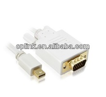 China mini dp to vga converter adapter factory supply for Macbook or Macbook Pro