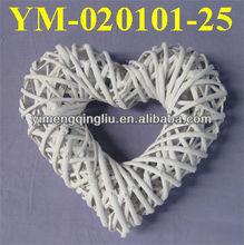 2013 hot sell heart wicker for wedding