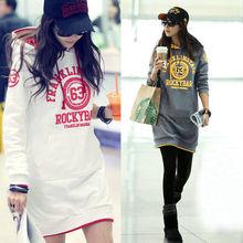 2015 Korean style fashion women's outerwear high neck hoodies for women wholesale women hoodies 9552#