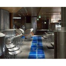Fancy restaurant decorative liquid colorful vinyl floor tile