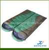 Double sleeping bag for two person