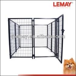 Welded modular panel dog kennel designs