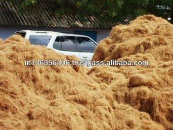 Coconut coir fiber for gardening