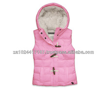 2013 Hot Fashion Girl's Leisure Down Vest
