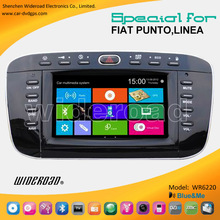 Fiat Punto/Linea autoradio dvd bluetooth with gps radio tv canbus bluetooth blue&me