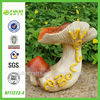 Welcome Sign Polyresin Garden Mushroom Paintings