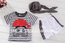 wholesale clothing 2-6 years old knitted kids clothing set china supplier