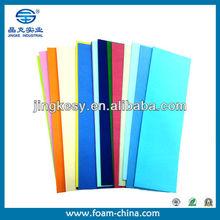 high quality non-toxic A4 size custom color eva sheet
