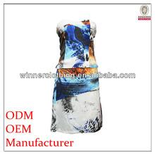 high fashion sleeveless bathing suit dress