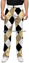 Novelty professional men golf trousers