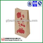 grocery brown kraft paper bag