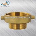 Brass pipe fittings&fipe hose adapters forging brass fire reoucer