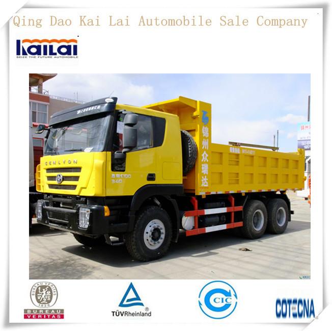 Iveco Genlyon/HongYan Dump Truck 380hp 25T/japan used dump trucks for sale
