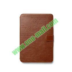 Original Korea Hot Zenus Note Style Genuine Leather Case for iPadmini Retina